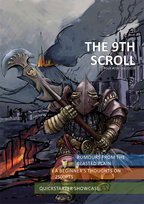 Le Ninth Scroll N°16
