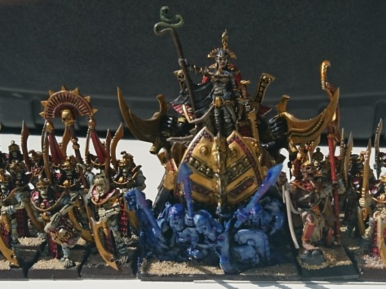 Death Cult Hierarch on Ark of Ages with her bodyguards