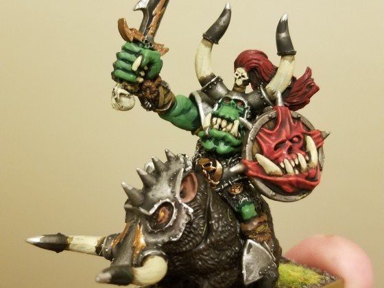 Orc Chief on Boar