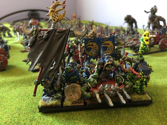 Goblin King, Bsb and Shaman 1
