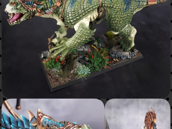 Old One on Carnosaur !