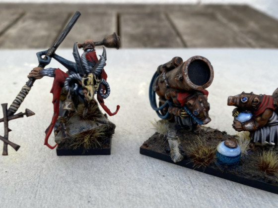 Magister and Weapon Team