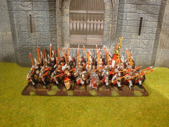 Games Workshop & MOM Heavy Infantry horde with Spear