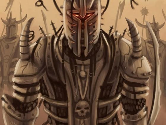 Chained Warrior of the Dark Gods by Samo94