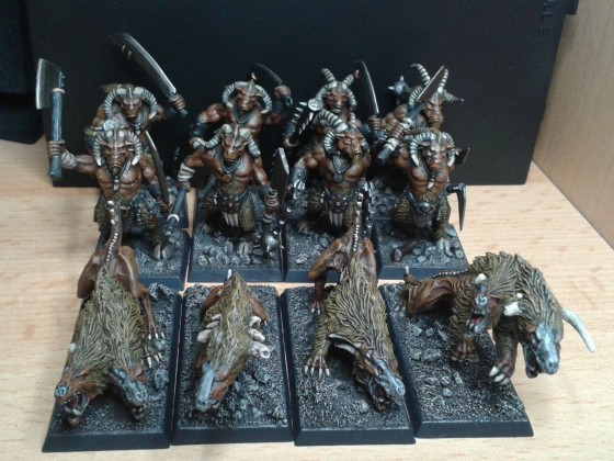 PaintingLeague_Jan2017 Wildhorns + Feral Hounds