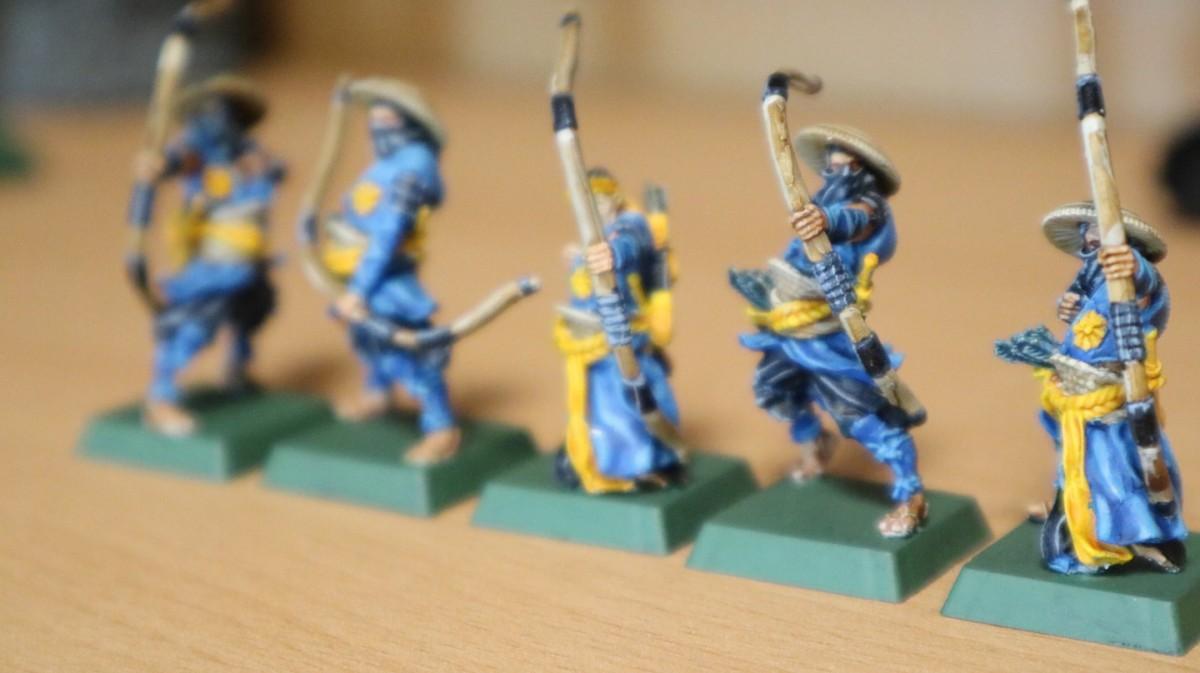 Ashigaru Archers (used as Rangers or Militia)