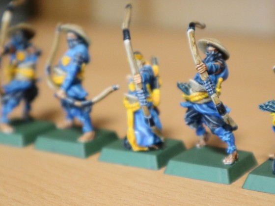 Ashigaru Archers (used as Rangers or Militia)