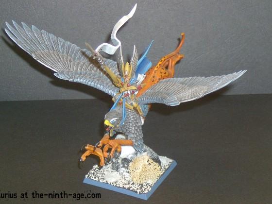 Highborn Elf on Griffon