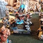 Dwarf King on Shieldbearers