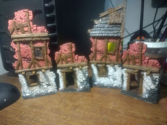 More mordheim like buildings