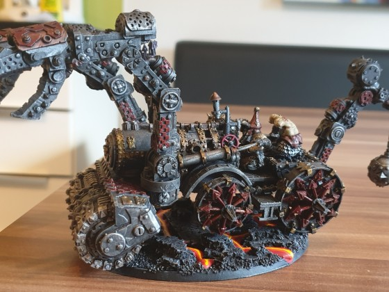 Infernal Engine Steam Hammer