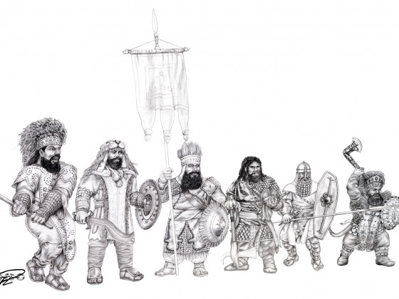 Kegiz Gavem Dwarves by Paulus Indomitus