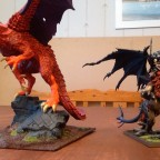 WIP Chaos Dragon and Lord of Chaos on Manticore