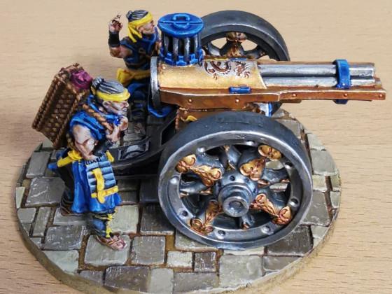 """The """"Golden Gun"""" (Fire Bringer (aka Volley Gun))"""