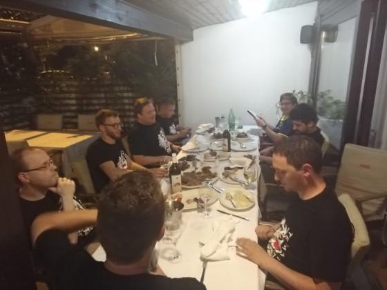 Dinner Day 1 - 3