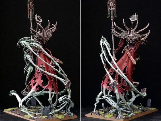 Nosferatu Count on Colossal Zombie Dragon - back