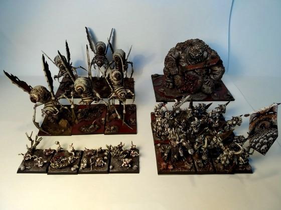 Armée Démons Nurgle finie (2)
