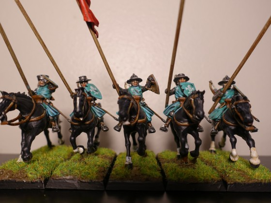 Yeoman Outriders - Red Unit
