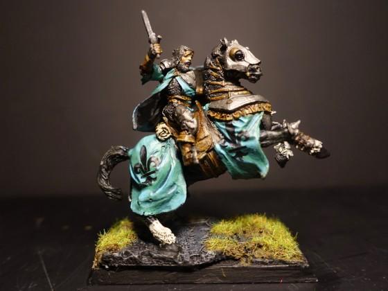 Baron de Celeste - Duke with Bastard Sword