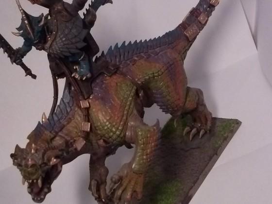 saurian ancient on tyrannosaurus rex