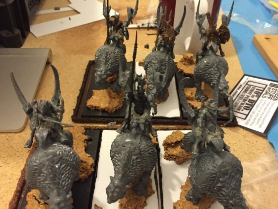 both raiding chariot units