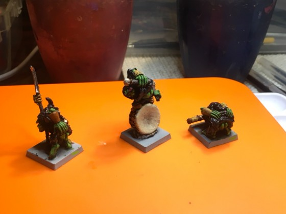 Vulgar Cave goblin command group