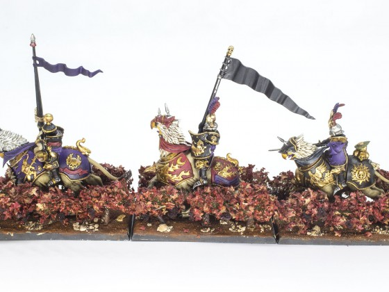 "Knights of the Sun Griffon ""In vino veritas"" army"