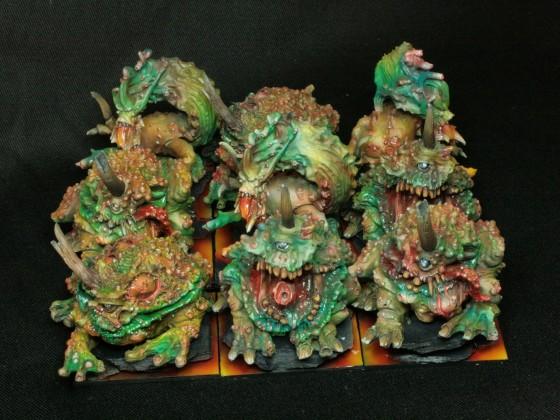 Beasts of Pestilence according to Vincent Soulié