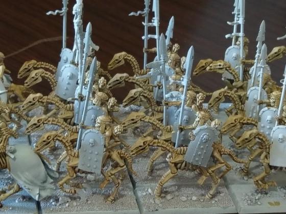UD skeleton cavalry