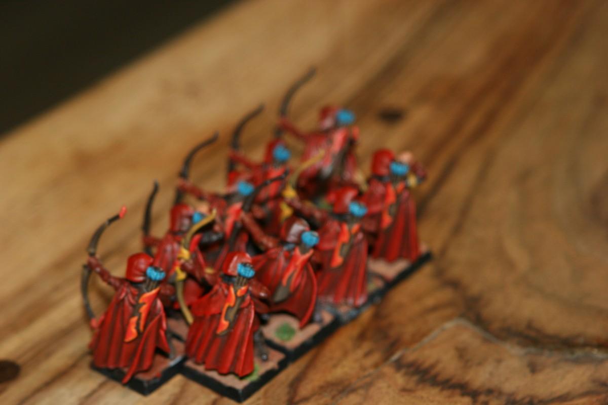 Sylvan Archers, autumn
