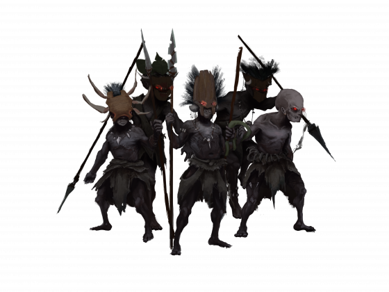 Pygmy Warriors