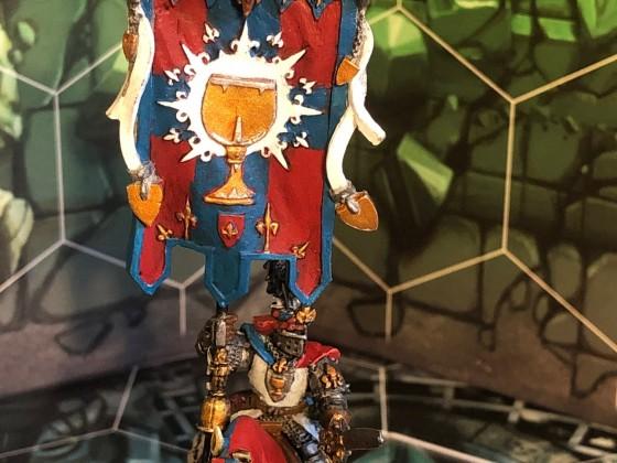 Knights of the Grail Battle Standard Bearer