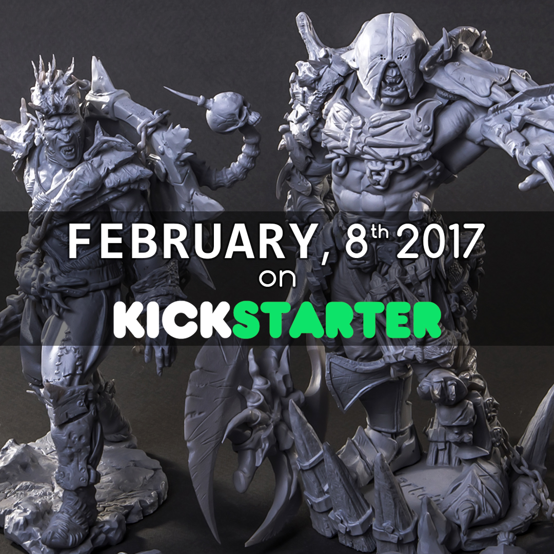 [KICKSTARTER - February, 8 TH] - The army of orcs grows (giant and 28mm scale)