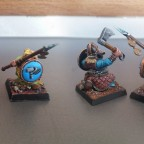 dwarf warriors - conversion