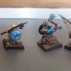 dwarf warriors - conversion