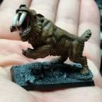 Sabretooth Tiger (Reaper miniatures)