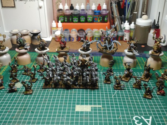 Orcs and Goblins (O & G) Army Service