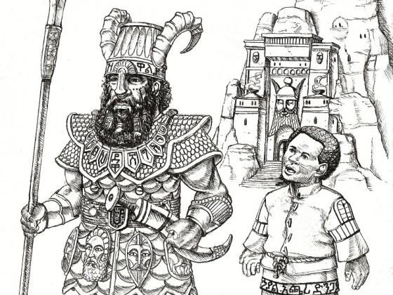 Kegiz Gavem Dwarves by Matthew Klaas de Witte