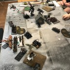 Last Stand 2018 - DE vs HE beginning of DE turn 2