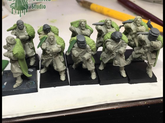 Conversion on Forlon knights