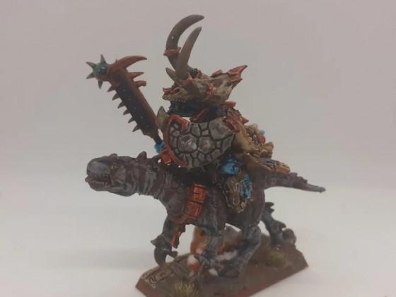 Saurian warlord