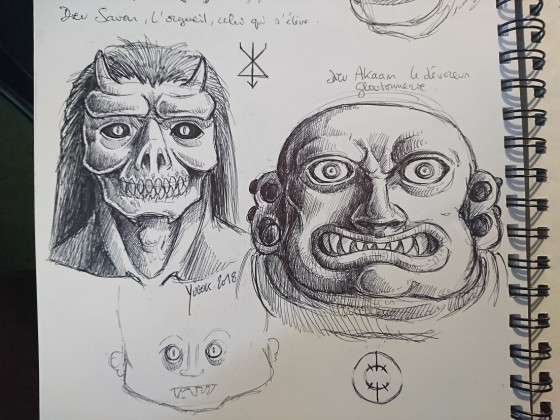 Lords of Dark Gods concept