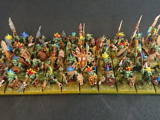 Forest Goblins by Shieldwolf Miniatures (overhead)
