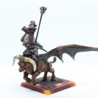 Infernal Dwarfes - Overlord on bull of Shamut