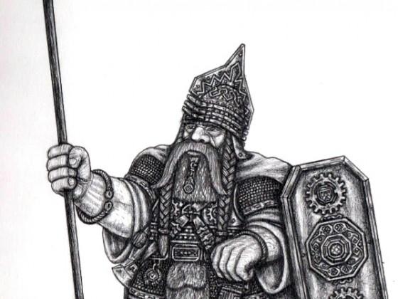 Dwarf of Nevaz Vanez (T9A Helvetians-Swiss)