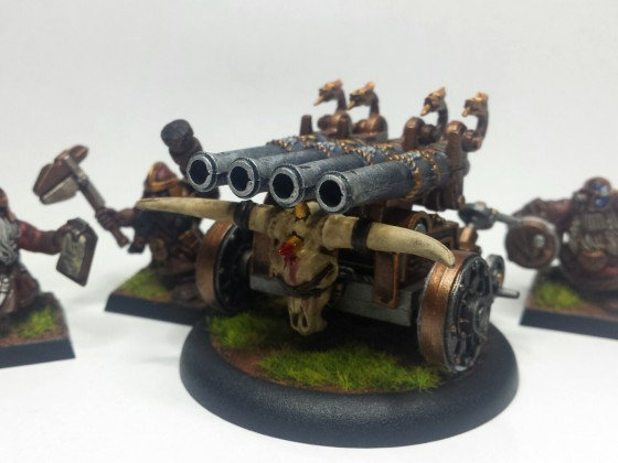 Close Quater Machine - Dwarf Volley Cannon
