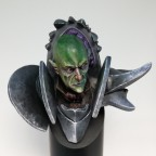 Vampire bust front