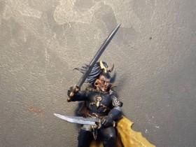 Corsair - base coat cloak front