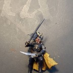 Corsair - base coat cloak front