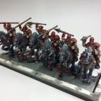 Axel Vicious' Barbarian Horsemen
